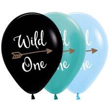 PARTY SUPPLIES BOYS GIRLS FIRST BIRTHDAY WILD ONE BOHO ARROW TRIBAL BALLOON PK10