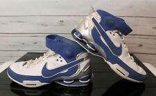 d6aec9a2567 2006 Nike Men s Shox Elite TB Retro Basketball Shoes 9.5 Blue Silver White  Duke