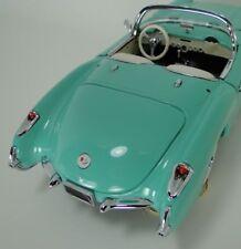 1957 Chevy Built 1 Corvette Race Sport Car Vintage 24 Carousel Aqua 18 Model 12