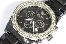 Emporio Armani Ceramica chronograph watch for repair