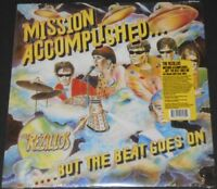 THE REZILLOS mission accomplished USA LP new LIGHT BLUE VINYL limited 500
