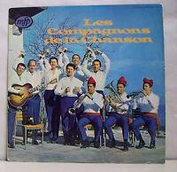 """33 tours LES COMPAGNONS DE LA CHANSON Disque Vinyle LP 12"""" UKRAINE - MFP 5075"""