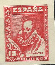 Spain Prueba # 82 pb (*) Sin goma / Cervantes