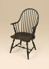 Windsor Chair - Armchair - Colonial - Country - Dining Room - Furniture - Black