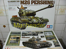 56016 Tamiya  1/16 R/C US Army M26  PERSHING Tank   Full-Option  Unassembled Kit