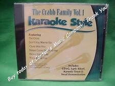 The Crabb Family~#1 ~ Christian~Daywind~Karaoke Style ~ Please Forgive Me ~ CD+G