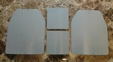 Body Armor Curved 10x12 & 6x6 Level3 Powdercoated Mil-Spec Certified Armor Plate