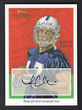 Austin Collie 2009 Topps National Chicle Autograph Card