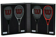 SIGNED / AUTOGRAPHED ROGER FEDERER WILSON LIMITED EDITION 2018 MINI RACKET SET