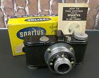 "Collectible Vintage Spartus ""35 F"" Model 400 35mm Film Camera W/Box"