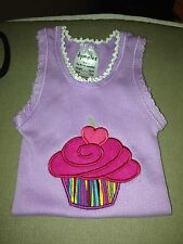 Baby Singlet Size 0 Cupcake Novelty Gift