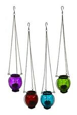 east2eden Hanging Moroccan Glass Tea Light Candle Holder Lantern Garden Home in