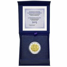 "2015 Greece 2 Euro Proof Coin ""Spyridon Louis 75 Years"" in Case"