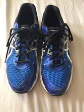 ASICS Contend 2 Men Size 12 Running Blue White Running  Synthetic Shoes Sneaker
