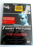 The Insider DVD Brand New Sealed