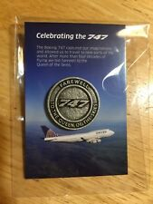 United Airlines 747 Farewell to the Queen of the Skies Pin