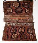 1840's Qashqai Saddle Bag Bagface Rug 2'11 x 3'9