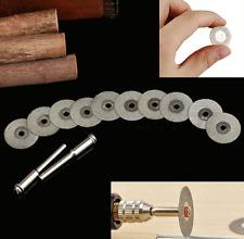 "10pcs Cutting Wheel Discs 3/4 Diamond Cut off Rotary Metal Fits 1/8"" mandrel New"