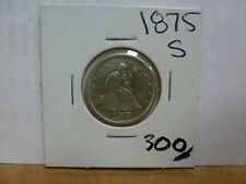 1875-S  SILVER SEATED LIBERTY TWENTY CENT PIECE--NICE LOOKING COIN!!