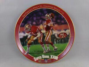 Joe Montana King Of Comebacks 49ers Superbowl XXIII Plate #18070D 100421DMT5