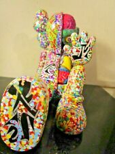 MUSK YAI HAND PAINTED CUSTOM 20CM KAWS Full Dissected Companion Resting Action ~