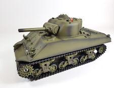 UK Heng Long Radio Remote Control RC Sherman Tank 1/16th Super Detail Cheap!