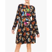 Desigual VEST KIRSTY Black Long Sleeve Dress Size EUR 42 UK 14 / eur 44 uk 16