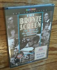 The Bronze Screen: 100 Years of Latino Image in Hollywood (DVD) Questar NEW