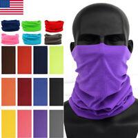 New Bandana Head Face Mask Neck Gaiter Snood Headwear Beanie Tube Scarf Unisex