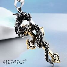 Stainless Steel Vintage Scorpions Pendant Necklace For Man And Woman Best Gift