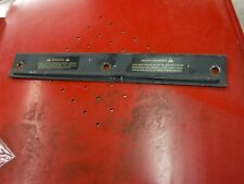 1987 Arctic Cat 440 JAG snowmobile parts: snow flap STAY PLATE ONLY