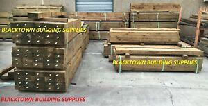 Treated Pine - Sleepers - H4 - 200 x 75 x 3.0m - Blacktown Building Supplies