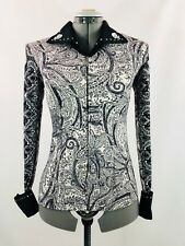 XLarge Western Show Pleasure Rail Shirt Jacket Clothes Showmanship Horsemanship