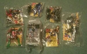 1999 Jack in the Box DC Justice League Super Heroes Set of 7 Figures New