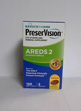 PreserVision Areds 2 Eye Vitamin and Mineral - 120 minigels Exp 1/22+ #7627