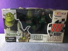 McFarlane Nascar Shrek And Bobby Labonte 2 Piece Set