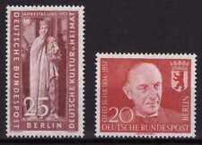 Berlino ** MER. n. 173 + 181-Słubice Kulturrat, 1. centenario della morte Otto Suhr