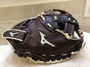 "Mizuno GXS-90F1 Franchise 34"" Fastpitch Softball Catchers Mitt Right Hand Throw"