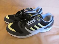 New Mens Adidas Classic Adidas ZX 8000 Black Grey Yellow Shoes Torsion Size 13.5