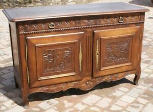 AN SUPERB  EARLY19th CENTURY ANTIQUE FRENCH BRETON CHESTNUT BUFFET / SIDEBOARD