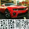 4X Cool 3D Bullet Fire Gun Hole Monster Scratch Decals Car Decorative Sticker US
