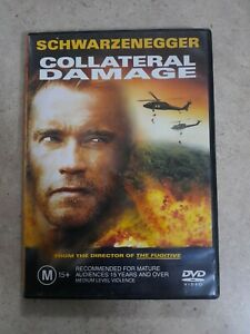 COLLATERAL DAMAGE (2001 MOVIE - DVD + FREE POST)