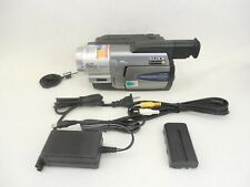 Sony Handycam CCD-TRV68 8mm Hi-8 Analog Camcorder VG Condition 90-Day Warranty