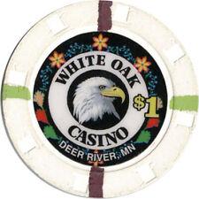 New ListingWhite Oak Casino - $1.00 Casino Chip