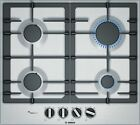 Bosch PCP6A5B90 Cooktop Gas 23 5/8in Installation Hob Autark Stainless Steel photo