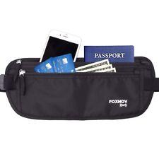 Money Belt - Passport Holder Secure Hidden Travel Wallet with RFID Blocking US