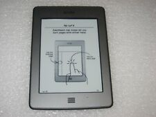 """Amazon Kindle Touch 4th Generation WiFi 4GB 6"""" D01200, Text-to-Speech"""