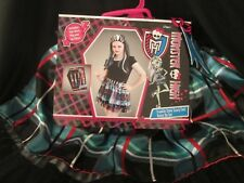 MONSTER HIGH - FRANKIE STEIN SKIRT & WIG SET Costume / Dress Up BRAND NEW