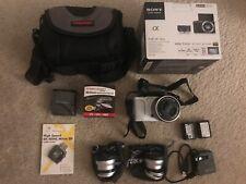 White Sony Alpha NEX-3N Digital Camera with Lens