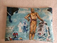 Rare Vintage Star Wars Pillow Empire Strikes Back 1979 Boba Fett Vader R2D2 C3PO